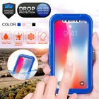 NEW Waterproof Shockproof Hybrid Rubber TPU Iris Recognition Touch ID Case Cover