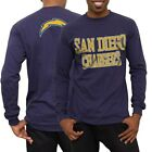 San Diego Chargers Navy No Huddle Long Sleeve T-Shirt $12.95 USD on eBay