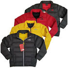 Внешний вид - NEW The North Face Boys Andes 550 down Insulated jacket Grey Red Yellow Winter