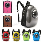 Pet Backpack Carrier For Dog Cat Astronaut Capsule Breathable Travel Space + Toy