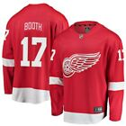 Fanatics Branded David Booth Detroit Red Wings Youth Red Breakaway Player Jersey