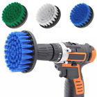 Drill Brush for Cleaning Car Carpet Tub Sink Baseboards 2/4/5 inch 3 Colors