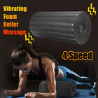 4 Speed Electric Yoga Vibrating Foam Roller Massage Body Muscle Relaxed Recove