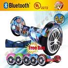 6.5'' Hoverboard Self balancing Electric scooter smartboard Bluetooth UL2272+bag