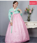 Womens Loose Retro Bowknot Korea Traditional National Dress Costumes Gown Sizes