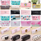 Cute Pencil Case Pen Pouch Box Bag Cases School Office Supplies Stationery Gift