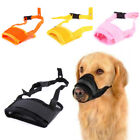 Puppy Adjustable Anti Stop Bite Chewing Mesh Muzzle Mask For Dog Training Tools