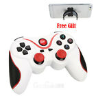 Wireless Bluetooth Gamepad Game Controller For Android PC TV Box Tablet + Holder
