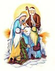 Christmas Nativity Scene Select-A-Size Ceramic Waterslide Decals Xx image
