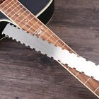 FFE5 Tool Neck Notched Guitar Neck Alloy Stainless Steel Ruler Silver Guitar