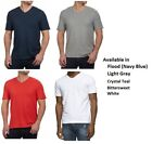 Calvin Klein Men's V-Neck Slub Tee T-Shirt, Choose Color and Size, NWT image