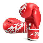 Pair Professional Boxing Gloves Sparring Glove Punch Bag Training MMA Mitts