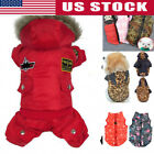 New Pet Dog Jacket Winter Warm Coat Costume Puppy Clothes Hoodie Padded Apparels