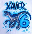 Dinosaur Airbrush Shirt - Name Included