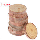 10pcs Wood Slices DIY Craft Decorations For Birthday Party Kids Cards Gift Tags