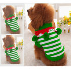 Small Dog Puppy Sweater Warm Clothes Winter Pet Costume Coat Apparel Xmas Theme