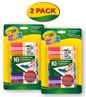 Crayola Color Wonder Markers, 10 Count, Mess Free Coloring,Gift for Kids, Age 3,