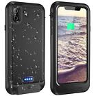 For iPhone X XS 8 7 6 6S Benefit Back Battery Charger Otterbox Case Waterproof IP68