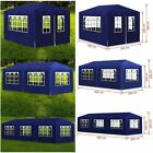 Outdoor Heavy Duty Garden Party Marquee Awning Canopy Pavilion Tent Patio 4 Size
