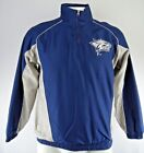 University New Hampshire Wildcats Men's 1/4 Zip Microfiber Jacket NCAA S L-2XL