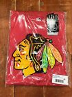 Chicago Blackhawks Men's Big & Tall S/S Distress Tee Shirt - Red / Heather NHL $19.99 USD on eBay