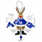 NCAA Wooden Holiday Christmas Reindeer Ornament TopperScot