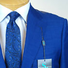 42R STEVE HARVEY Royal Blue SUIT SEPARATE  42 Regular Mens Suits - SS41
