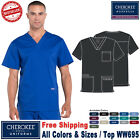 Cherokee Scrubs PROFESSIONAL Men's Medical Uniform V-Neck Top WW695 Regular Size