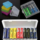 Portable Plastic Battery Case Cover Holder Storage Box For 18650 Batteries New