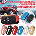 Soft TPU Remote Smart Key Fob Shell Cover Case For Jeep Chrysler Dodge 11-Upc US $7.79 USD on eBay