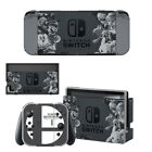 Newest Marios Smash Bro Stickers Skin For Nintend Switch NS Console Controller