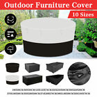 10 Sizes Waterproof Outdoor Patio Garden Furniture Cover Table Chair Rain Cover