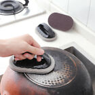 1PC Magic Emery Cleaning Brush With handles Sponge For Dishes Pot Floor Kitchen