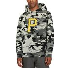 Stitches Pittsburgh Pirates Black/Camo Pullover Hoodie on Ebay
