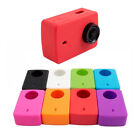 Silicone Case Soft Protective Cover Lens Cap For Xiaomi Xiao Yi 2 II 4K Cam S