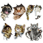 Home Decorating Shopping Online Wall Stickers Vinyl Cute 3D Kitten Cat Bedroom Fridge Decal Home Mural Art Decor Wholesale Distributors For Home Decor