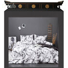 Student Schoolback Duvet Cover Set Bedding Marble Twill Brushed + Pillow Cover