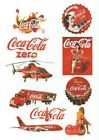 10 & 7 Pack of Coca Cola Stickers (Choice)