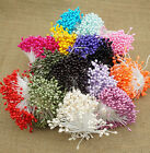 Внешний вид - 280pcs/set Mini Double Heads Eco Friendly Artificial Flower Stamen Sugar Craft