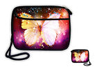 """2.5"""" USB Hard Drive Disk HDD Storage Bag Portable Carry Case Cover Pouch+Strap"""