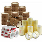 TAPE STRONG CLEAR / BROWN / FRAGILE 48mm x 66M PACKING PARCEL TAPE