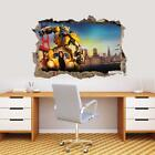 "Buy ""Bumblebee Decal 3D Smashed Wall Sticker Decor Art Mural Transformers J1348"" on EBAY"