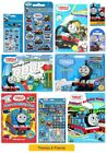 THOMAS & FRIENDS - Colouring Stickers Activity Packs/Pads/Card/Party Gift Xmas