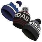 adidas Golf Mens Pom Winter Knitted Cuffed Beanie Bobble Hat