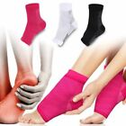 Ankle Foot Support Elastic Compression Wrap Sleeve Sports Socks Pain $5.49 USD on eBay
