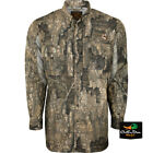 DRAKE WATERFOWL OL TOM VESTLESS MESH BACK CAMO SHIRT WITH SPINE PADShirts & Tops - 177874