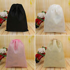 Portable Shoes Bag Travel Storage Pouch Drawstring Dust Bag Non-woven Party ca