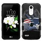 for LG Aristo 3 LMX220 Glove Design Rugged Armor Hard+Rubber Hybrid Case Cover $19.95 USD on eBay