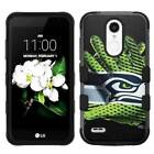 for LG Aristo 2 Plus Glove Design Rugged Armor Hard+Rubber Hybrid Case Cover $19.95 USD on eBay
