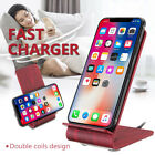 Wireless Qi Fast Charger Charging Stand Dock Pad For Samsung Galaxy S9/ S9+ Plus